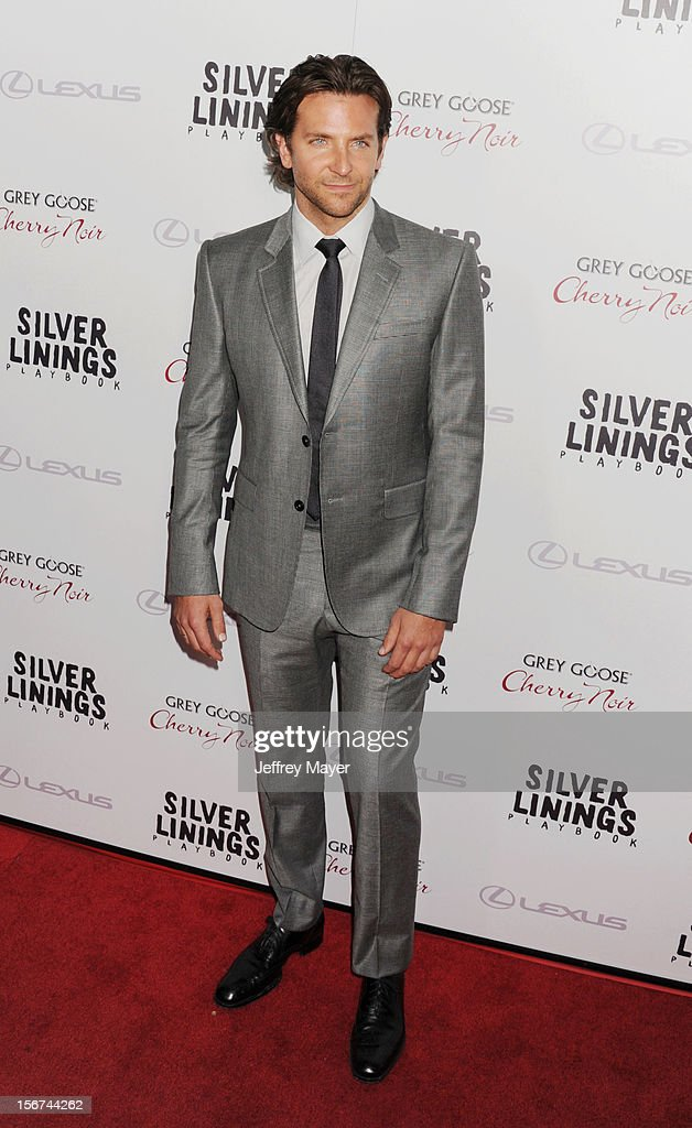 Bradley Cooper arrives at the 'Silver Linings Playbook' - Los Angeles Special Screening at the Academy of Motion Picture Arts and Sciences on November 19, 2012 in Beverly Hills, California.