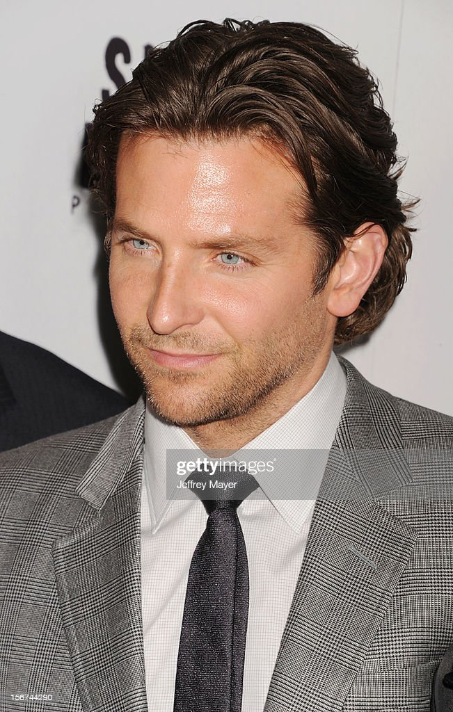 <a gi-track='captionPersonalityLinkClicked' href=/galleries/search?phrase=Bradley+Cooper&family=editorial&specificpeople=680224 ng-click='$event.stopPropagation()'>Bradley Cooper</a> arrives at the 'Silver Linings Playbook' - Los Angeles Special Screening at the Academy of Motion Picture Arts and Sciences on November 19, 2012 in Beverly Hills, California.