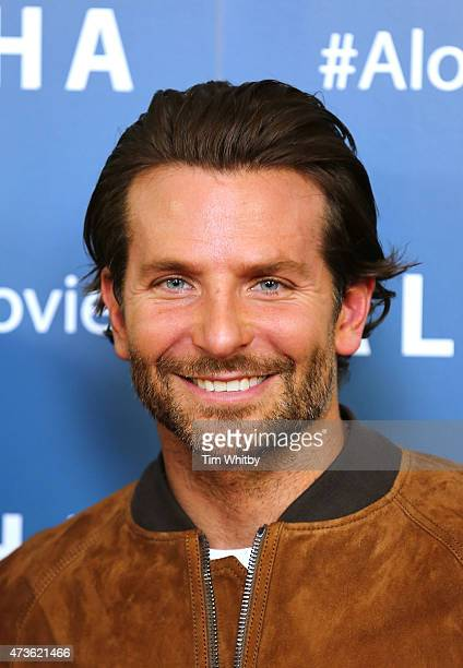 Bradley Cooper attends a VIP screening of 'Aloha' at Soho Hotel on May 16 2015 in London England