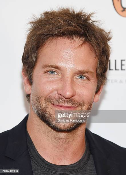 Bradley Cooper attends Arthur Miller One Night 100 Years Benefit at Lyceum Theatre on January 25 2016 in New York City