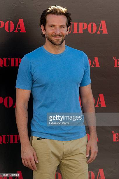 Bradley Cooper attends 'El Equipo A' photocall at the ME Hotel on July 26 2010 in Madrid Spain
