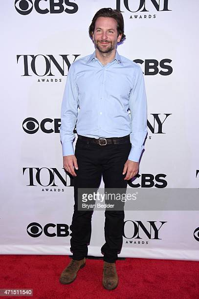 Bradley Cooper attends the 2015 Tony Awards Meet The Nominees Press Reception at the Paramount Hotel on April 29 2015 in New York City