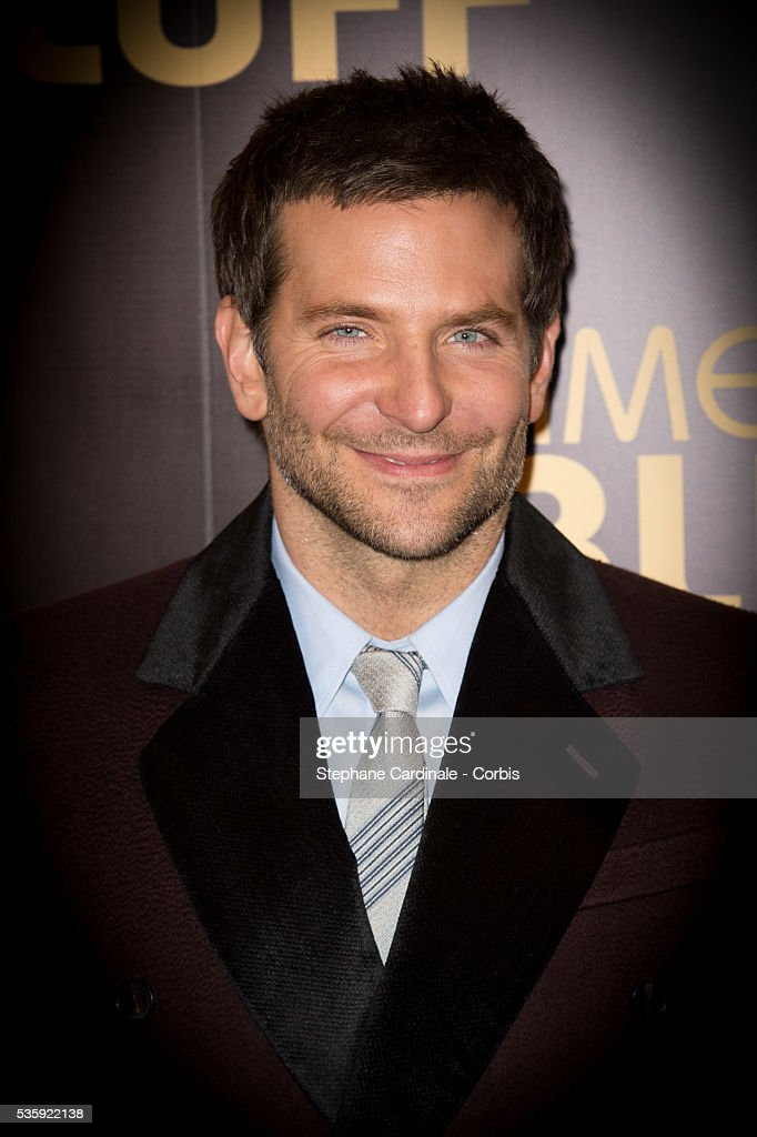 Bradley Cooper attends the 'American Bluff' Paris Premiere at Cinema UGC Normandie, in Paris.