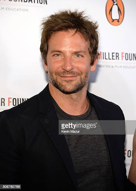 Bradley Cooper attends the Arthur Miller One Night 100 Years Benefit at Lyceum Theatre on January 25 2016 in New York City