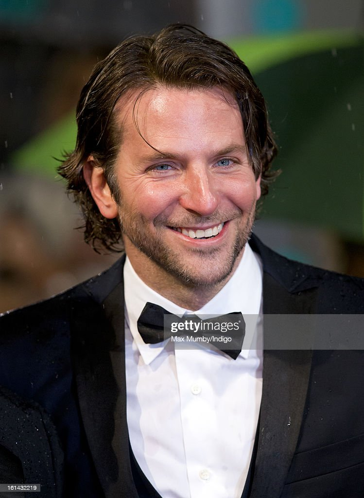 <a gi-track='captionPersonalityLinkClicked' href=/galleries/search?phrase=Bradley+Cooper&family=editorial&specificpeople=680224 ng-click='$event.stopPropagation()'>Bradley Cooper</a> attends the EE British Academy Film Awards at The Royal Opera House on February 10, 2013 in London, England.