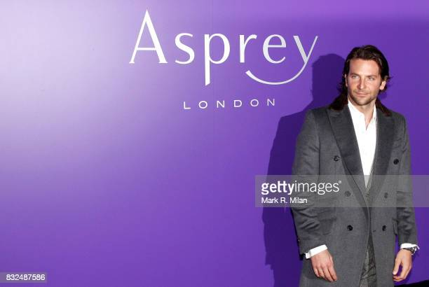 Bradley Cooper attends the EE British Academy Film Awards Nominees Party at London Jewelery Store Asprey on February 9 2013 in London England