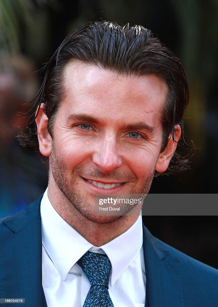 <a gi-track='captionPersonalityLinkClicked' href=/galleries/search?phrase=Bradley+Cooper&family=editorial&specificpeople=680224 ng-click='$event.stopPropagation()'>Bradley Cooper</a> attends The Hangover III - UK film premiere at The Empire Cinema on May 22, 2013 in London, England.