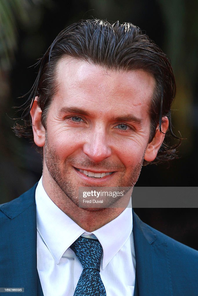 <a gi-track='captionPersonalityLinkClicked' href=/galleries/search?phrase=Bradley+Cooper&family=editorial&specificpeople=680224 ng-click='$event.stopPropagation()'>Bradley Cooper</a> attends 'The Hangover III' - UK film premiere at The Empire Cinema on May 22, 2013 in London, England.