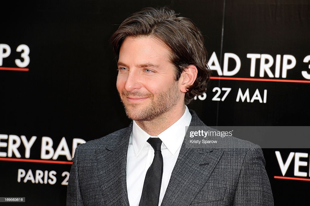 <a gi-track='captionPersonalityLinkClicked' href=/galleries/search?phrase=Bradley+Cooper&family=editorial&specificpeople=680224 ng-click='$event.stopPropagation()'>Bradley Cooper</a> attends the 'Hangover - Very Bad Trip III' ('The Hangover Part III') Paris premiere at Cinema UGC Normandie on May 27, 2013 in Paris, France.