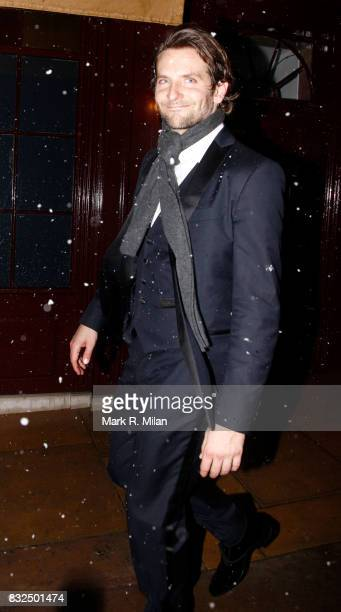 Bradley Cooper attends the Harvey Weinstein BAFTA After Party at Loulou's Mayfair on February 10 2013 in London England
