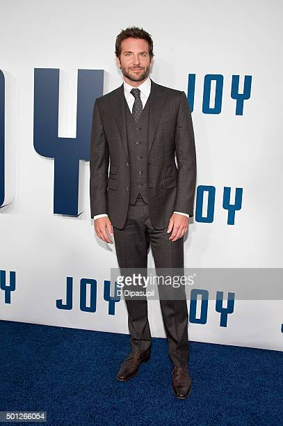 Bradley Cooper attends the 'Joy' New York premiere at the Ziegfeld Theater on December 13 2015 in New York City