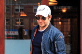 Bradley Cooper is seen leaving his downtown hotel on February 20 2014 in New York City