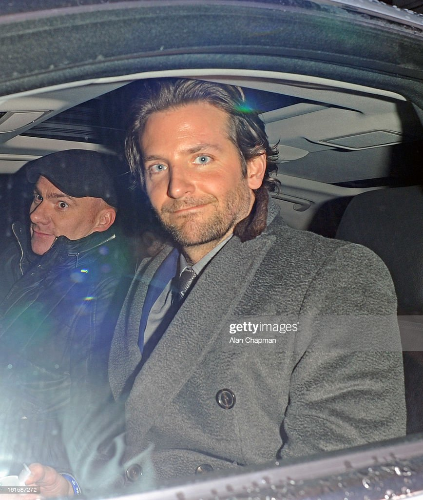 Bradley Cooper sighting at the Elle Style Awards on February 11, 2013 in London, England.