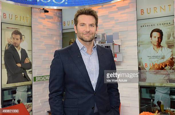 AMERICA Bradley Cooper talks about his days as a chef and his new film 'Burnt' on GOOD MORNING AMERICA 10/20/15 airing on the ABC Television Network