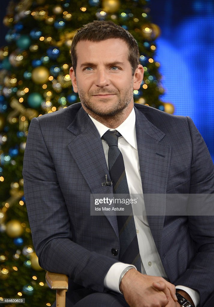 AMERICA - Bradley Cooper visits GOOD MORNING AMERICA, 12/9/13, airing on the ABC Television Network. (Photo by Ida Mae Astute/ABC via Getty Images) BRADLEY