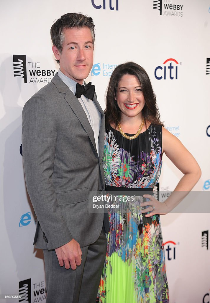 Bradley Lautenbach and Randi Zuckerberg attend the 17th Annual Webby Awards at Cipriani Wall Street on May 21, 2013 in New York City.