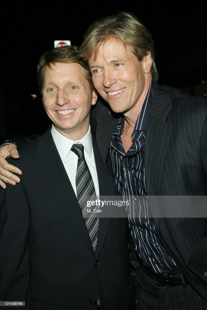 Bradley P. Bell and <a gi-track='captionPersonalityLinkClicked' href=/galleries/search?phrase=Jack+Wagner&family=editorial&specificpeople=213524 ng-click='$event.stopPropagation()'>Jack Wagner</a> during 'The Bold and the Beautiful' Gala to Celebrate 20 Years at Two Rodeo in Beverly Hills, California, United States.