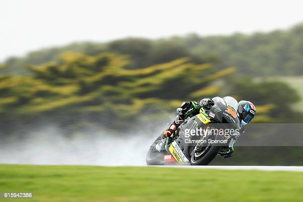 Bradley Smith of Great Britain and Monster Yamaha Tech 3 rides during free practice for the 2016 MotoGP of Australia at Phillip Island Grand Prix...