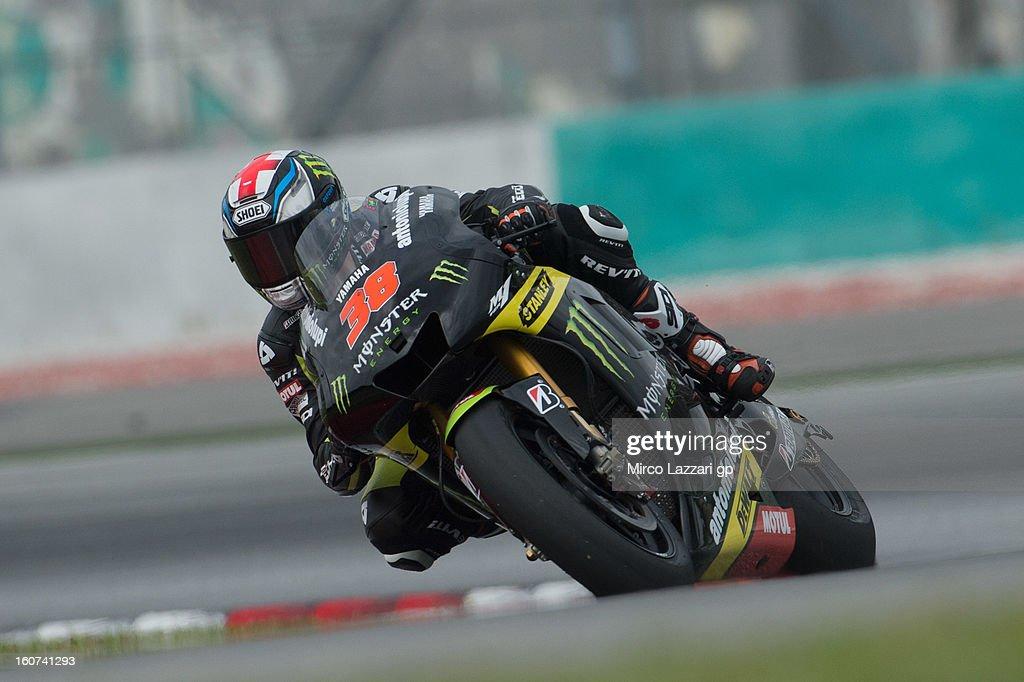 Bradley Smith of Great Britain and Monster Yamaha Tech 3 rounds the bend during the MotoGP Tests in Sepang - Day Three at Sepang Circuit on February 5, 2013 in Kuala Lumpur, Malaysia.