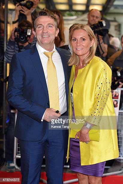 Bradley Walsh and Donna Derby attend the UK Gala screening of 'Man Up' at The Curzon Mayfair on May 13 2015 in London England
