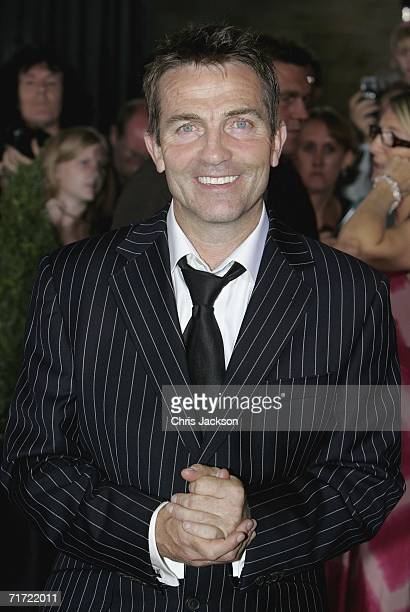 Bradley Walsh arrives at the Gala Dinner on the first day of the Northern Rock All Star Cup at the Celtic Manor Resort on August 26 2006 in Newport...