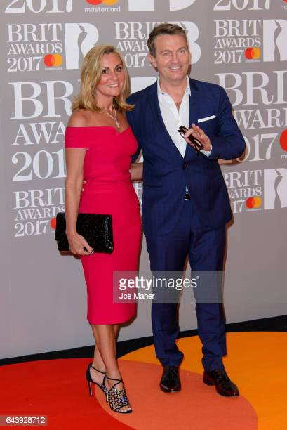 ONLY Bradley Walsh attends The BRIT Awards 2017 at The O2 Arena on February 22 2017 in London England