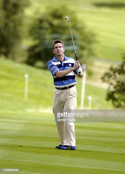 Bradley Walsh during The Northern Rock All Star Charity Gala Golf Tournament Day 1 at Celtic Manor Resort in Newport Great Britain