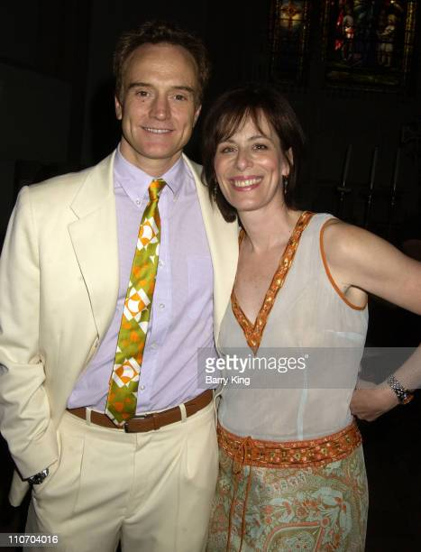 Bradley Whitford and Jane Kaczmarek during 'It's About Love' Celebration at All Saints Church in Pasadena California United States