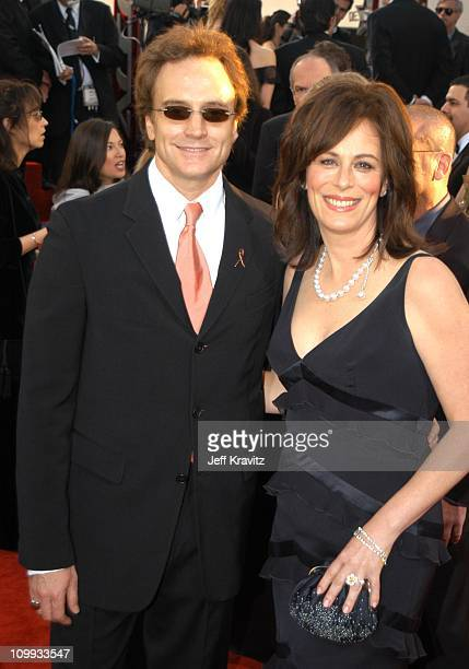 Bradley Whitford and Jane Kaczmarek during The 60th Annual Golden Globe Awards Arrivals at Beverly Hilton Hotel in Beverly Hills CA United States