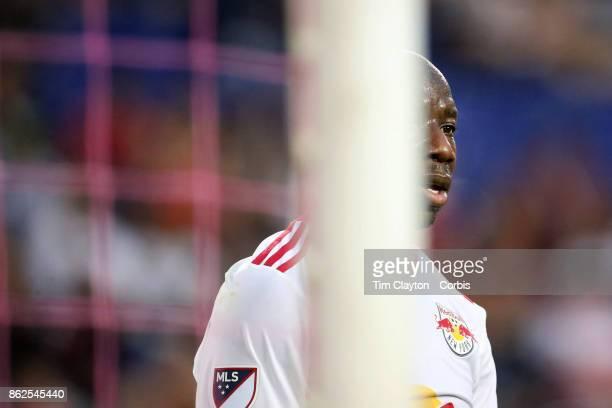 Bradley WrightPhillips of New York Red Bulls in action during the New York Red Bulls Vs Atlanta United FC MLS regular season match at Red Bull Arena...