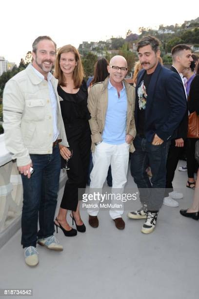 Bradly Garlock Alexandra Kimbal Billy Norwich and Douglas Friedman attend Bret Easton Ellis to celebrate the publication of his new novel IMPERIAL...