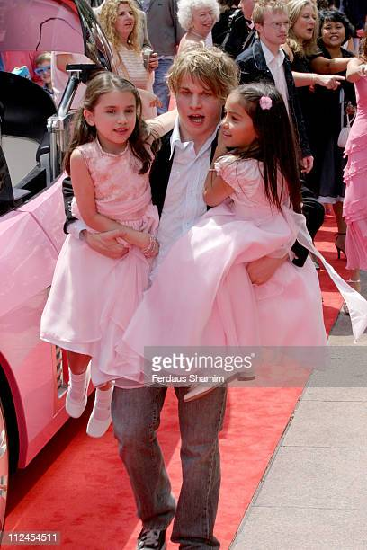 Brady Corbet and guests during 'Thunderbirds' UK Premiere Arrivals at Empire Leicester Square in London Great Britain