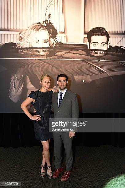 Brady Cunningham and Jason Schwartzman attend the Lexus 'Laws of Attraction' at Metreon on July 30 2012 in San Francisco California