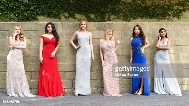 Brady Reiter Katrina Stuart Angelica Salek Mahkenna Tyson Laci Kay and Talin Silva attend Celebrity Stylist Ali Levine Dresses Today's Influencers...