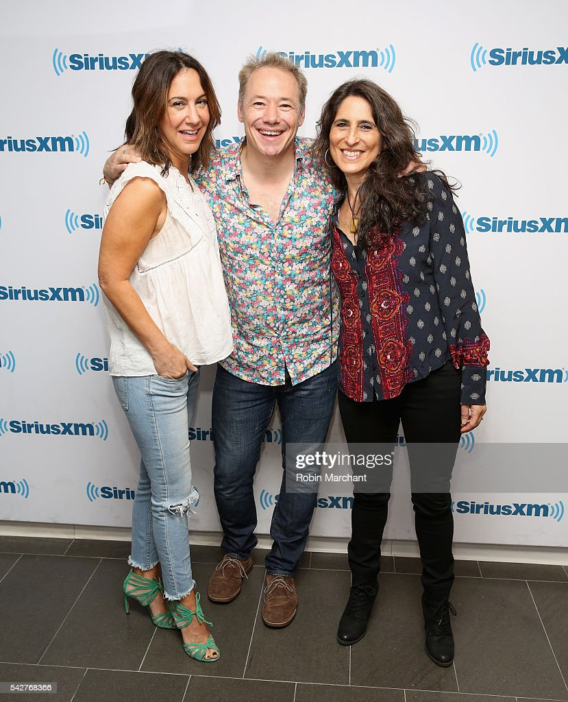Brady Rymer (C) and the Little Band That Could visits at SiriusXM Studio on June 24, 2016 in New York City.