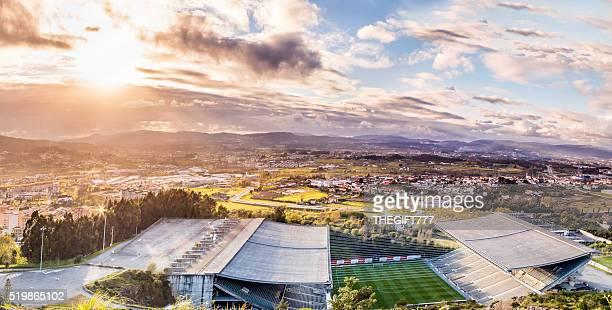 Estádio Municipal de Braga AXA Panorama de cima