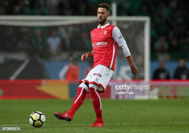 Braga defender Ricardo Ferreira from Portugal in action during the Primeira Liga match between Sporting CP and SC Braga at Estadio Jose Alvalade on...