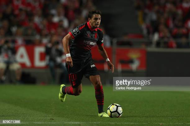 Braga forward Bruno Xadas from Portugal during the match between SL Benfica and SC Braga for the fruit round of the Portuguese Primeira Liga at...