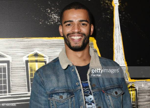 Brahim Zaibat attends 'Tonic Follies' Villa Schweppes Before Cannes Festival Party at Foundation Mona Bismarck on April 20 2017 in Paris France