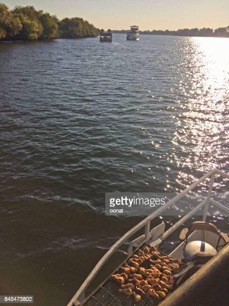 Brai on a river cruise