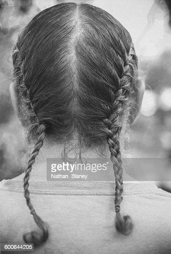 Braided Hair : Stock Photo