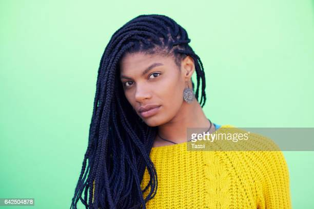 Braids look beautiful on her