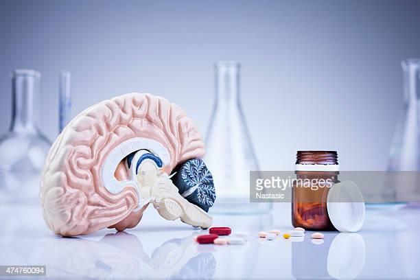 Cerveau dans le laboratoire