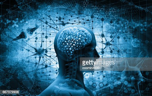 brain, thinking concept : Stock Photo