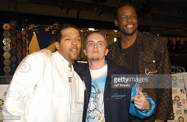 Brainpower during MTV European Music Awards 2002 at Palau Sant Jordi in Barcelona Spain