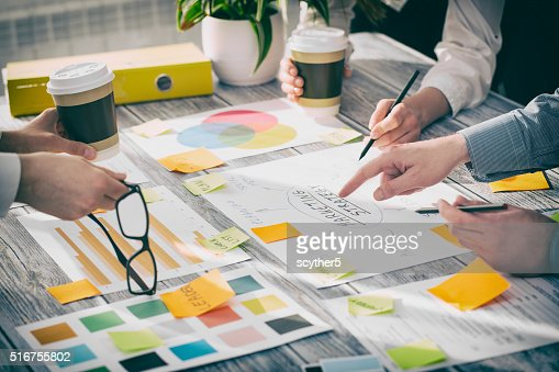 Brainstorming Brainstorm Business People Design Concepts : Stock Photo