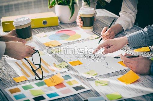 Brainstorming Brainstorm Business People Design Concepts : Stock Photo