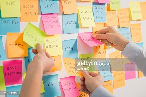 Brainstorming concepts. : Stock Photo
