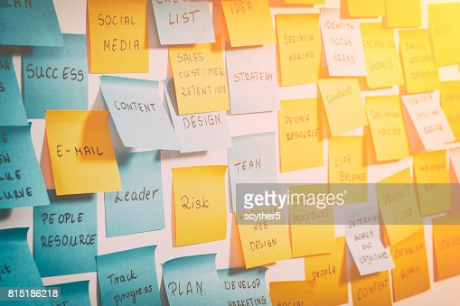 Brainstorming concepts. : Foto de stock