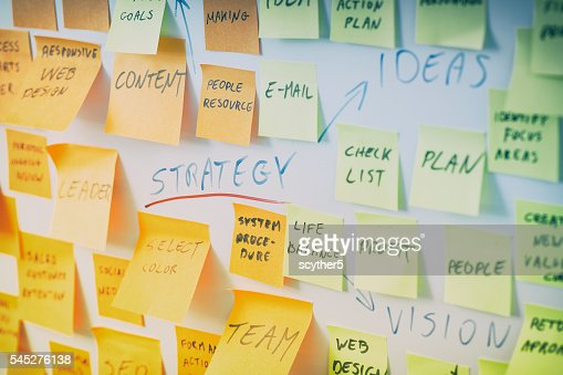 Brainstorming concpets. : Foto stock